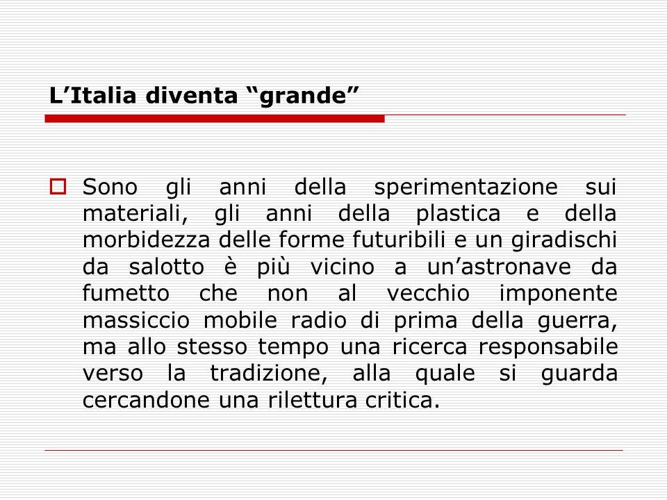 L'Italia diventa grande