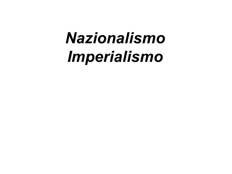 Nazionalismo Imperialismo