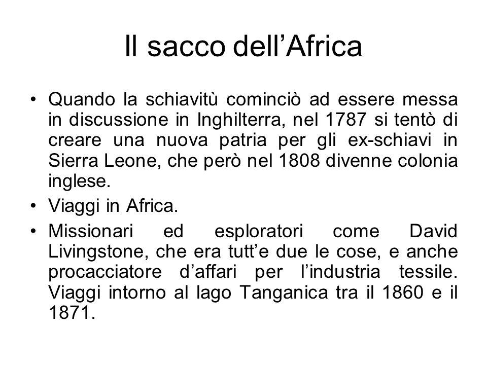 Il sacco dell'Africa