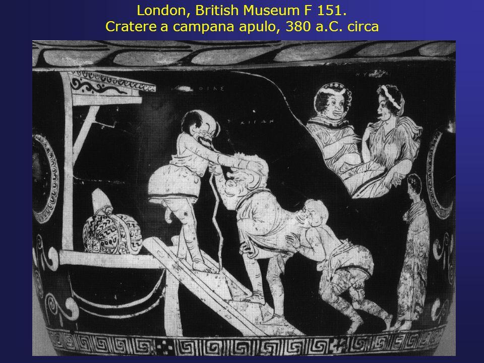 London, British Museum F 151. Cratere a campana apulo, 380 a.C. circa