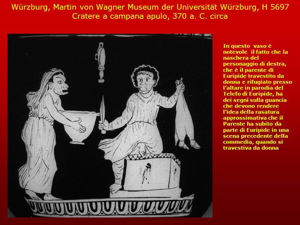 Würzburg, Martin von Wagner Museum der Universität Würzburg, H 5697 Cratere a campana apulo, 370 a. C. circa