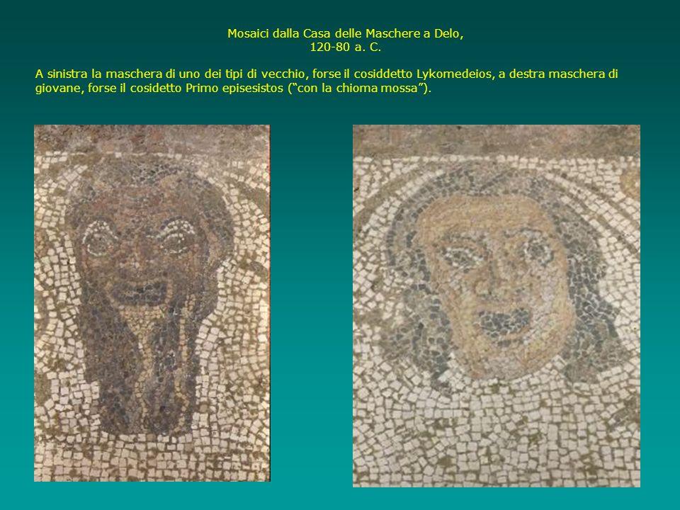 Mosaici dalla Casa delle Maschere a Delo,