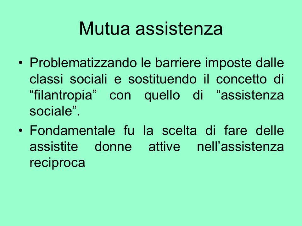 Mutua assistenza