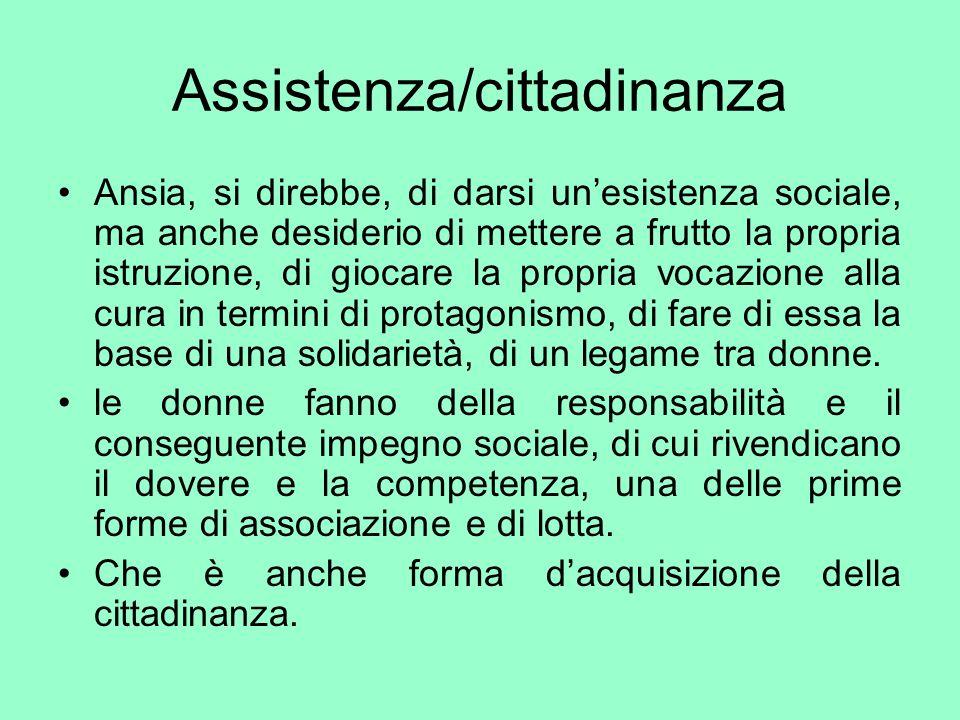 Assistenza/cittadinanza