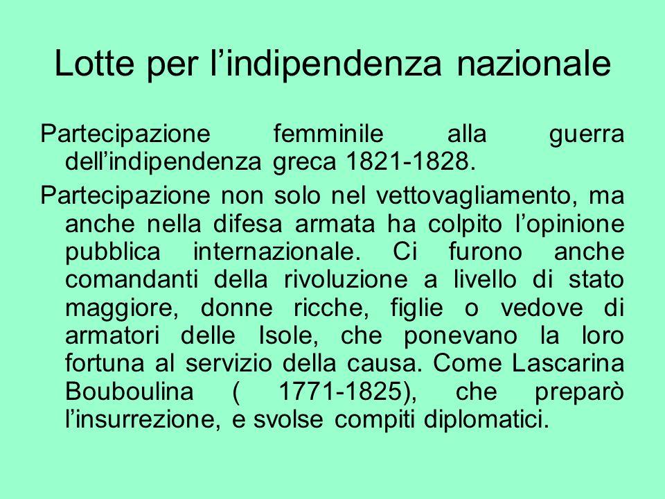 Lotte per l'indipendenza nazionale
