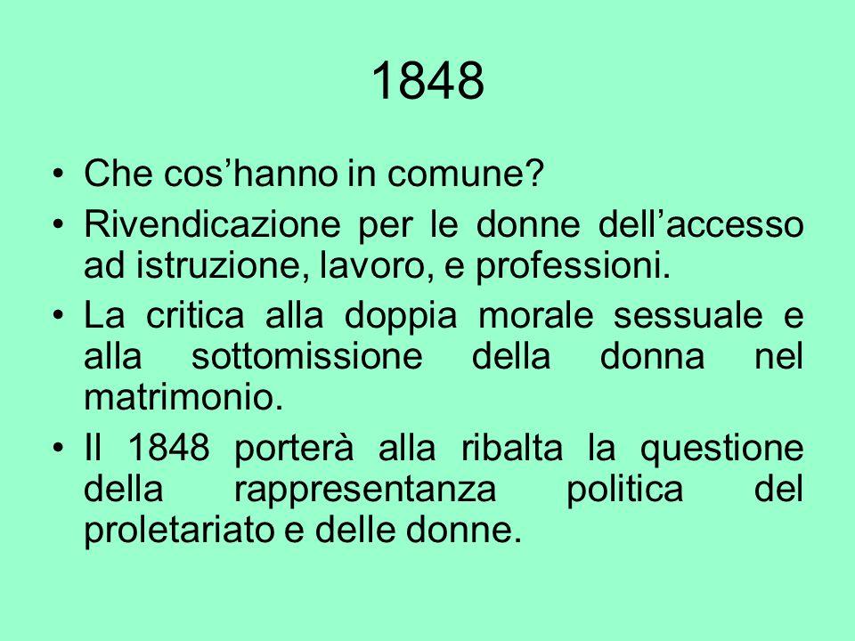 1848 Che cos'hanno in comune