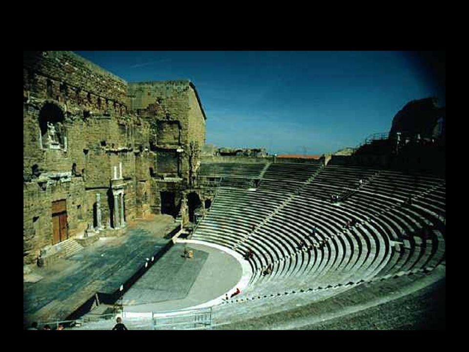 Il teatro romano di Orange