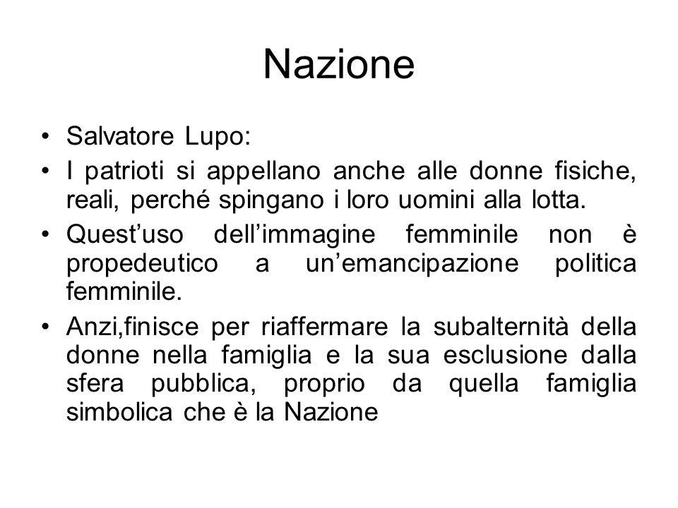 Nazione Salvatore Lupo: