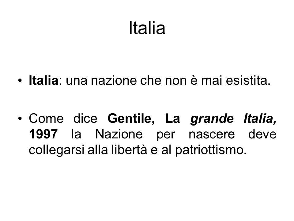 Italia Italia: una nazione che non è mai esistita.