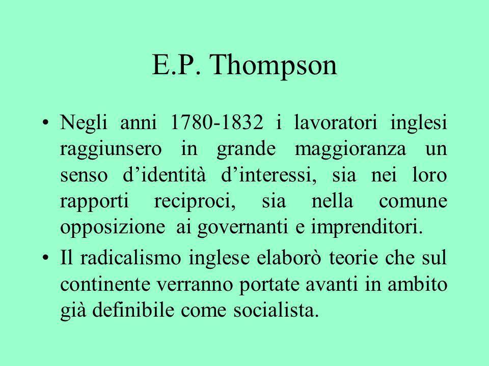 E.P. Thompson