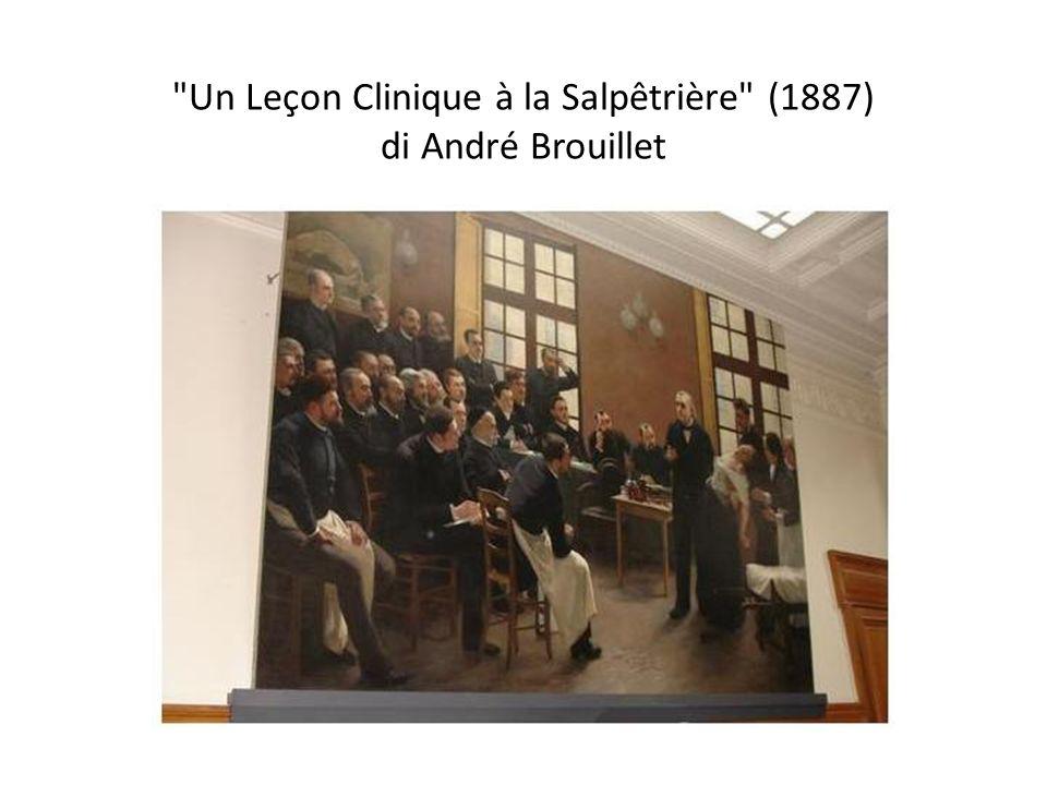 Un Leçon Clinique à la Salpêtrière (1887) di André Brouillet