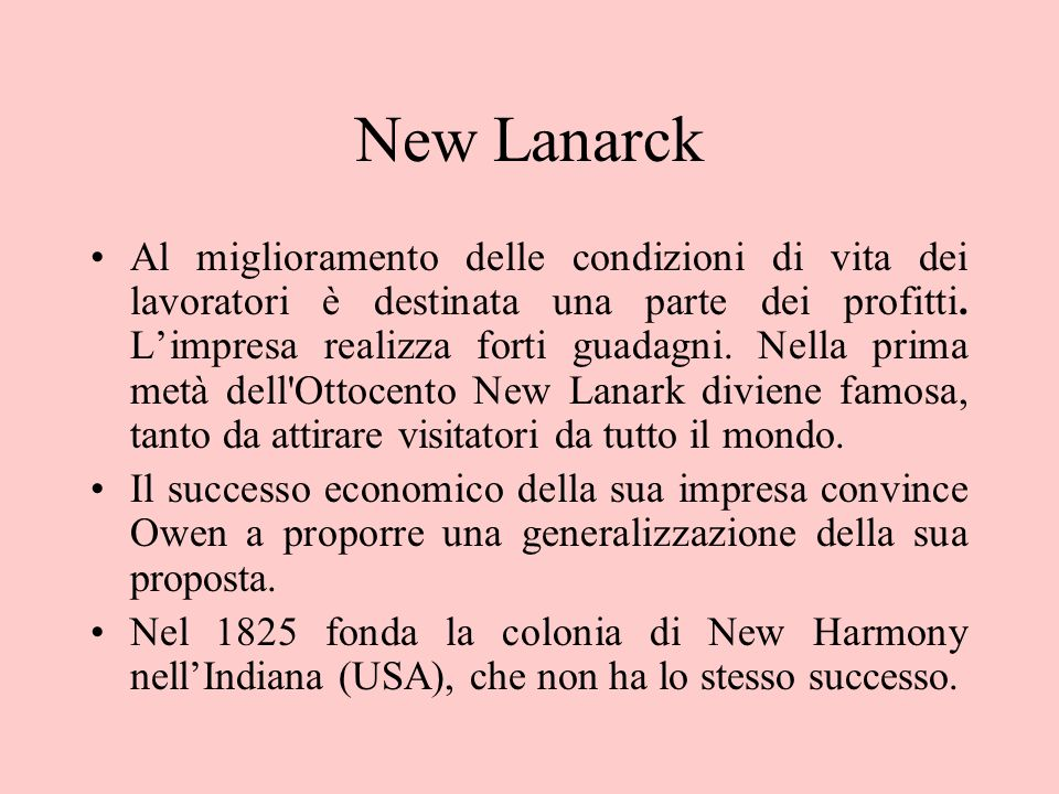 New Lanarck