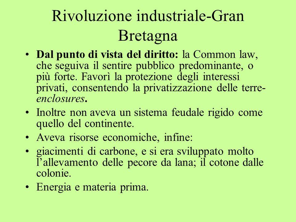 Rivoluzione industriale-Gran Bretagna