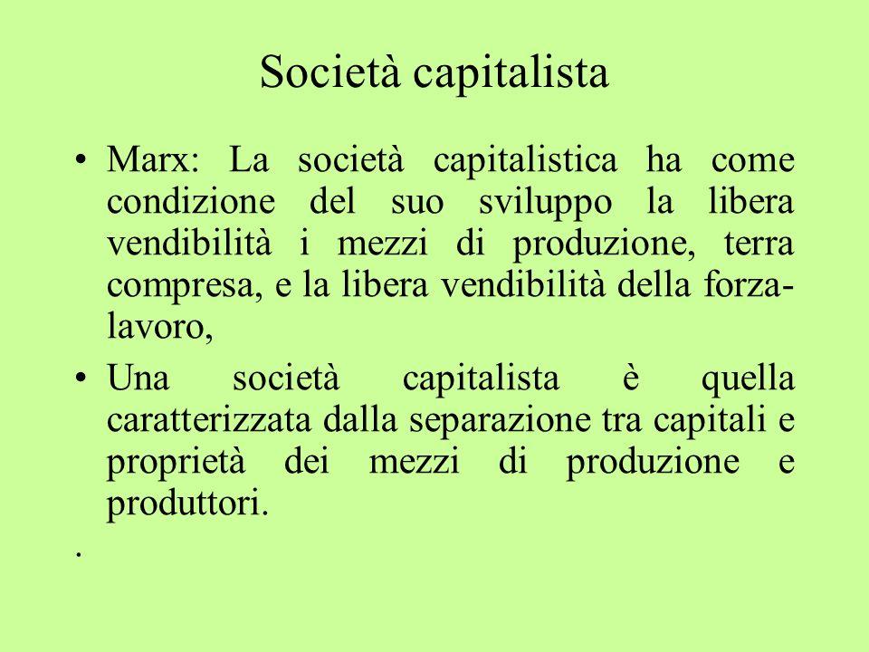 Società capitalista