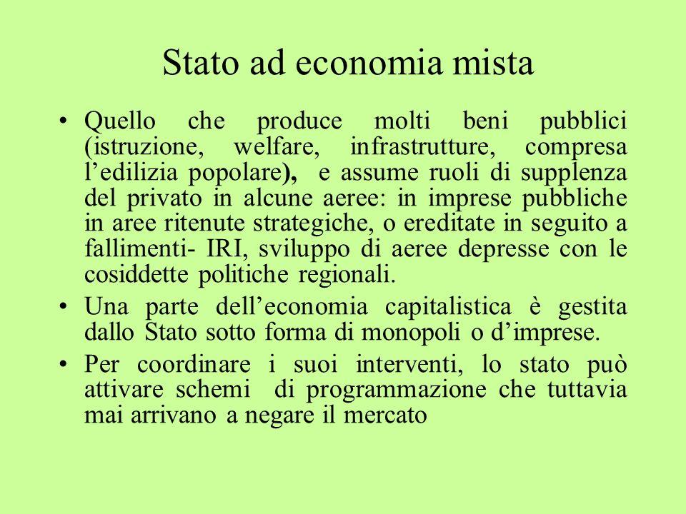 Stato ad economia mista