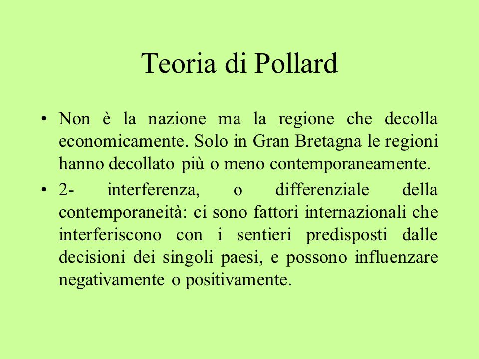 Teoria di Pollard