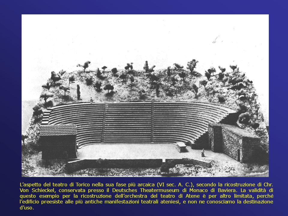 L'aspetto del teatro di Torico nella sua fase più arcaica (VI sec.