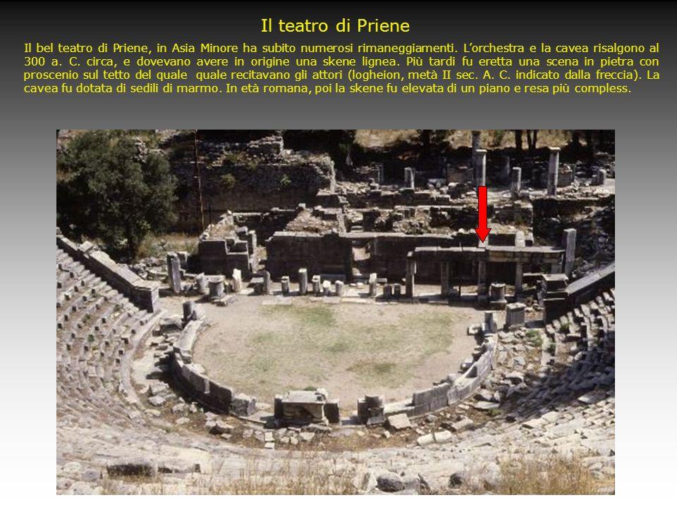 Il teatro di Priene