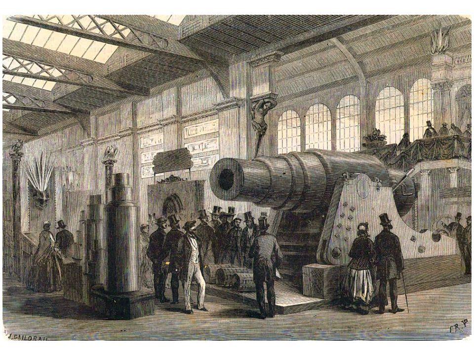 Cannone in acciaio della ditta Krupp di Essen, Prussia