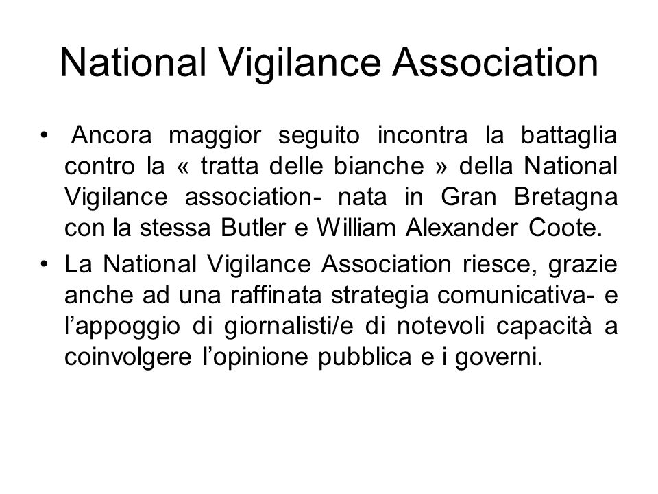 National Vigilance Association