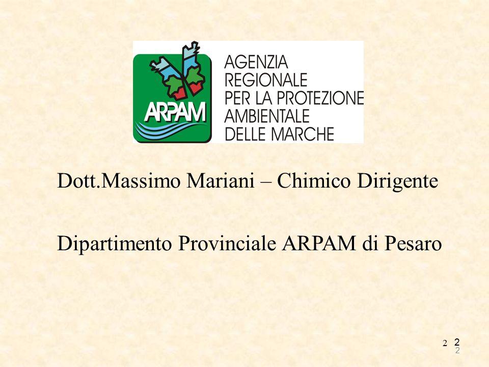 Dott.Massimo Mariani – Chimico Dirigente