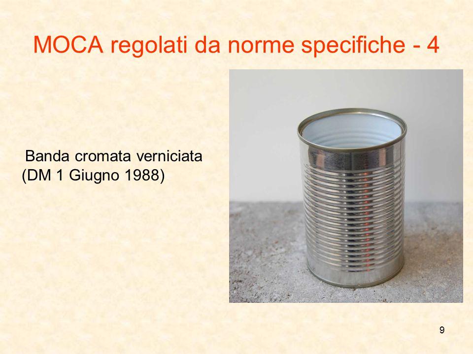 MOCA regolati da norme specifiche - 4