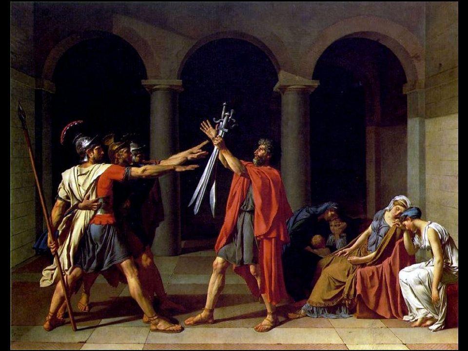 Jacques-Louis David (Parigi, 30 agosto 1748 – Bruxelles, 29 dicembre 1825) , 1784