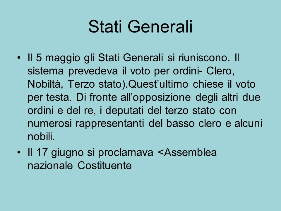 Stati Generali