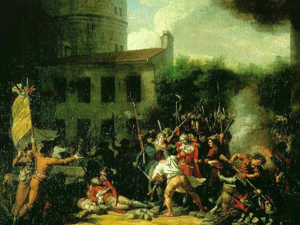 Charles Thévenin (1764–1838) La prise de la Bastille, 1793.