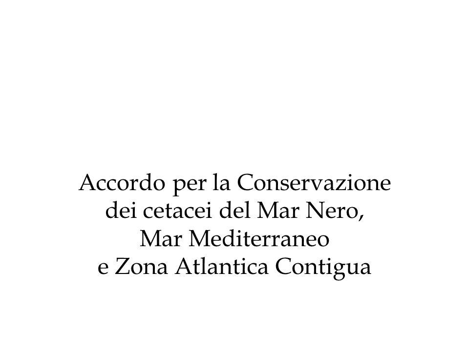 Accordo per la Conservazione dei cetacei del Mar Nero, Mar Mediterraneo e Zona Atlantica Contigua