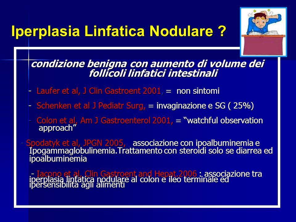 Iperplasia Linfatica Nodulare