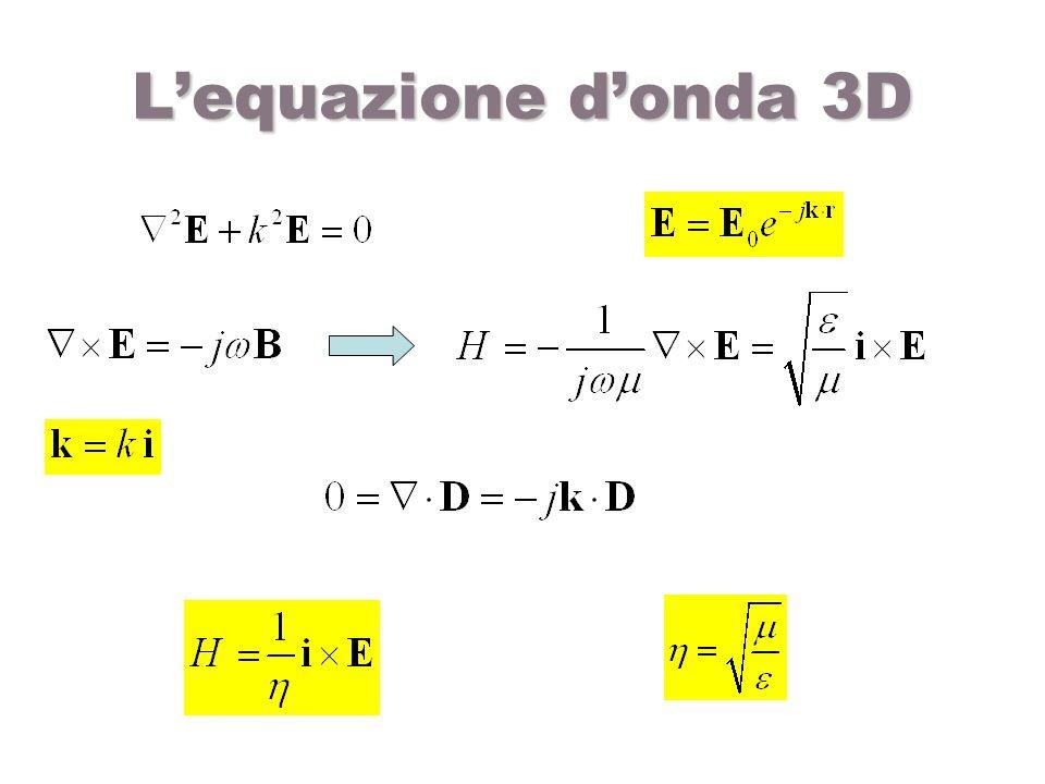 L'equazione d'onda 3D