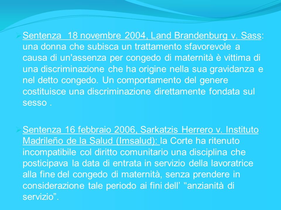 Sentenza 18 novembre 2004, Land Brandenburg v
