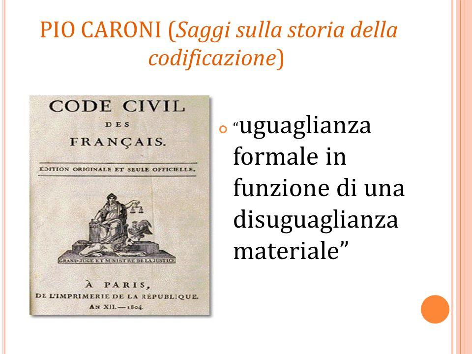 Pio Caroni (Saggi sulla storia della codificazione)