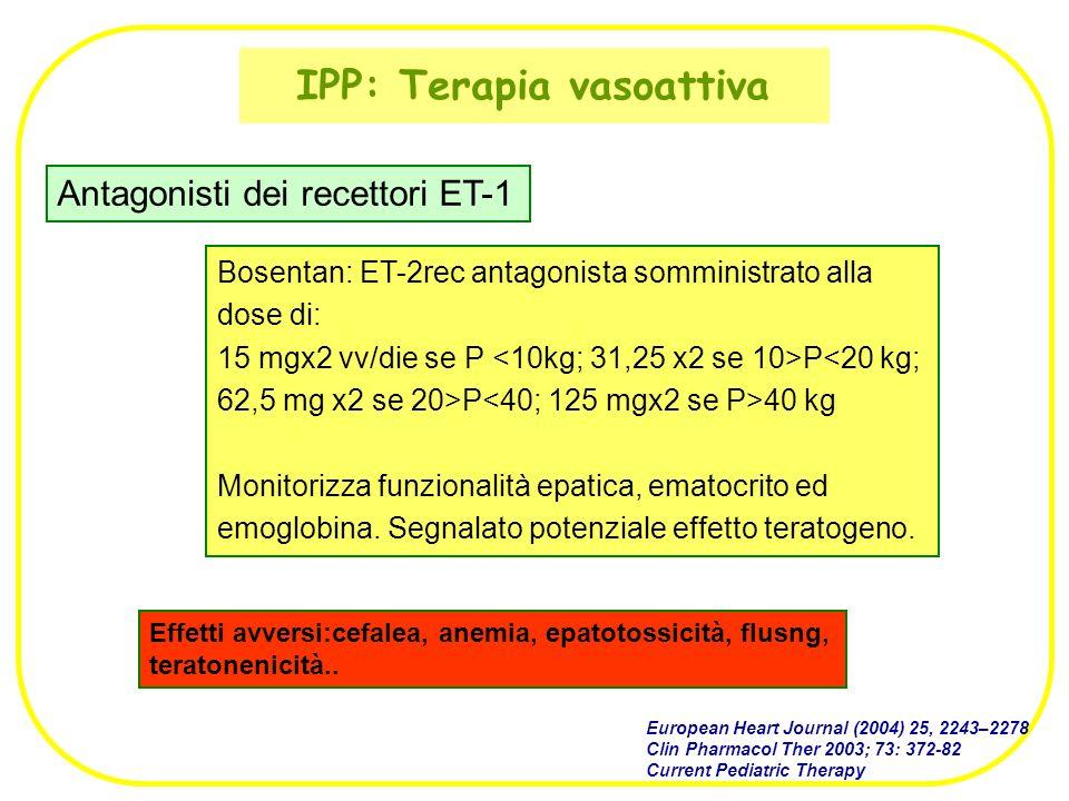 IPP: Terapia vasoattiva