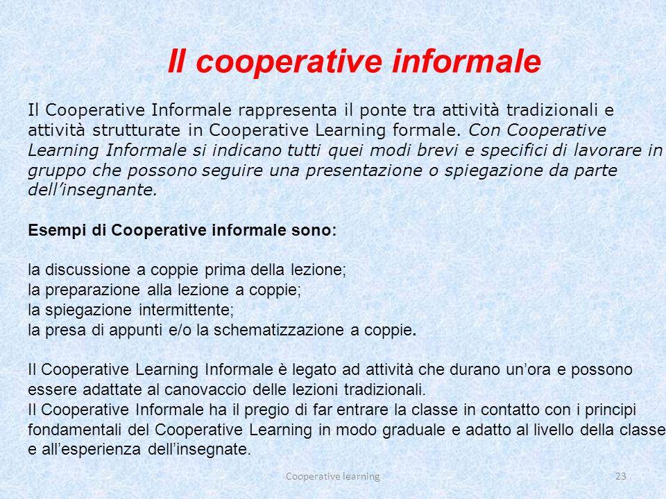 Il cooperative informale