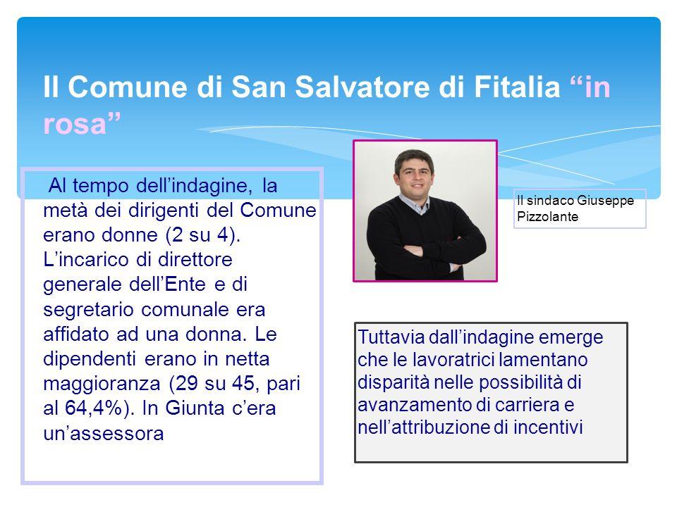 Il Comune di San Salvatore di Fitalia in rosa
