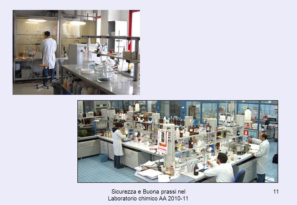Sicurezza e Buona prassi nel Laboratorio chimico AA 2010-11