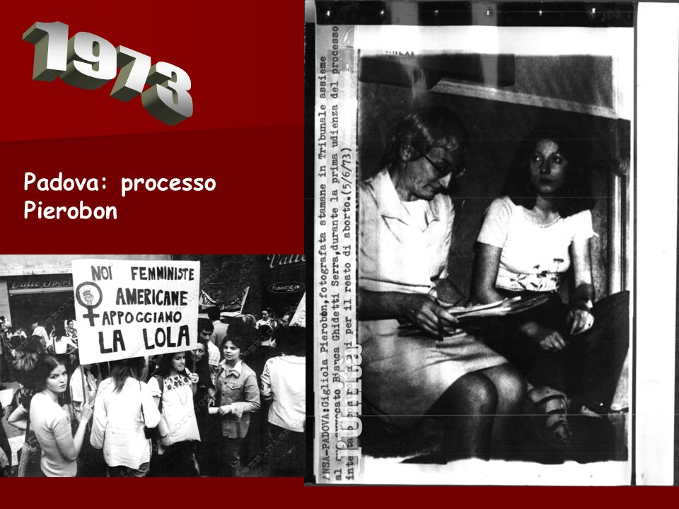 1973 Padova: processo Pierobon