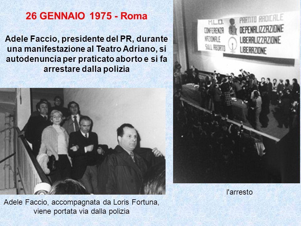 26 GENNAIO 1975 - Roma