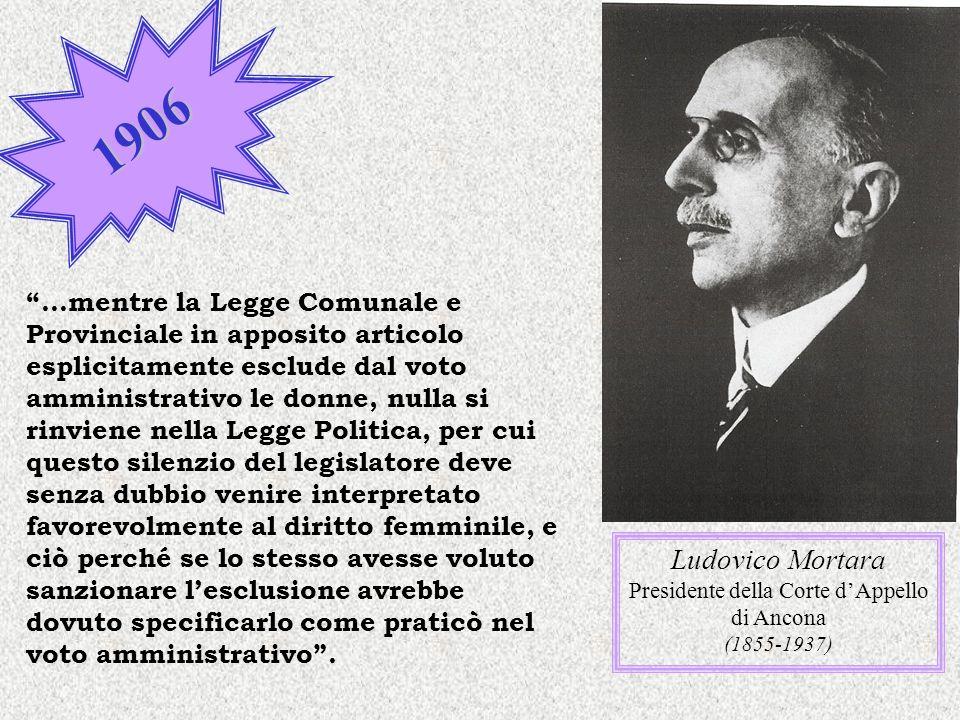 Presidente della Corte d'Appello di Ancona