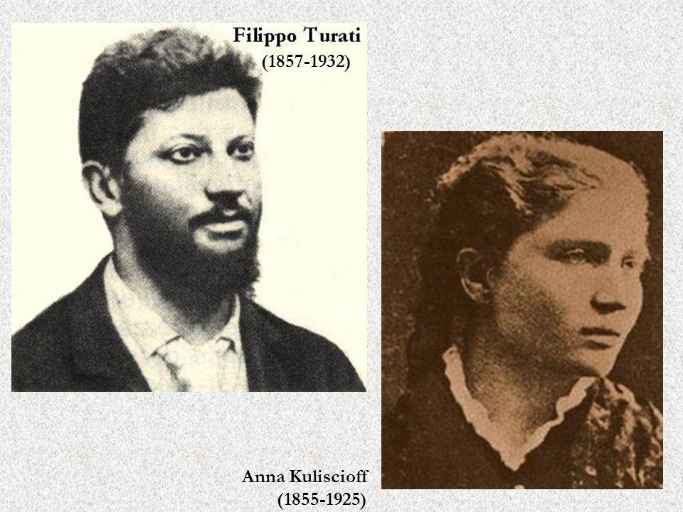 (1857-1932) Anna Kuliscioff (1855-1925)