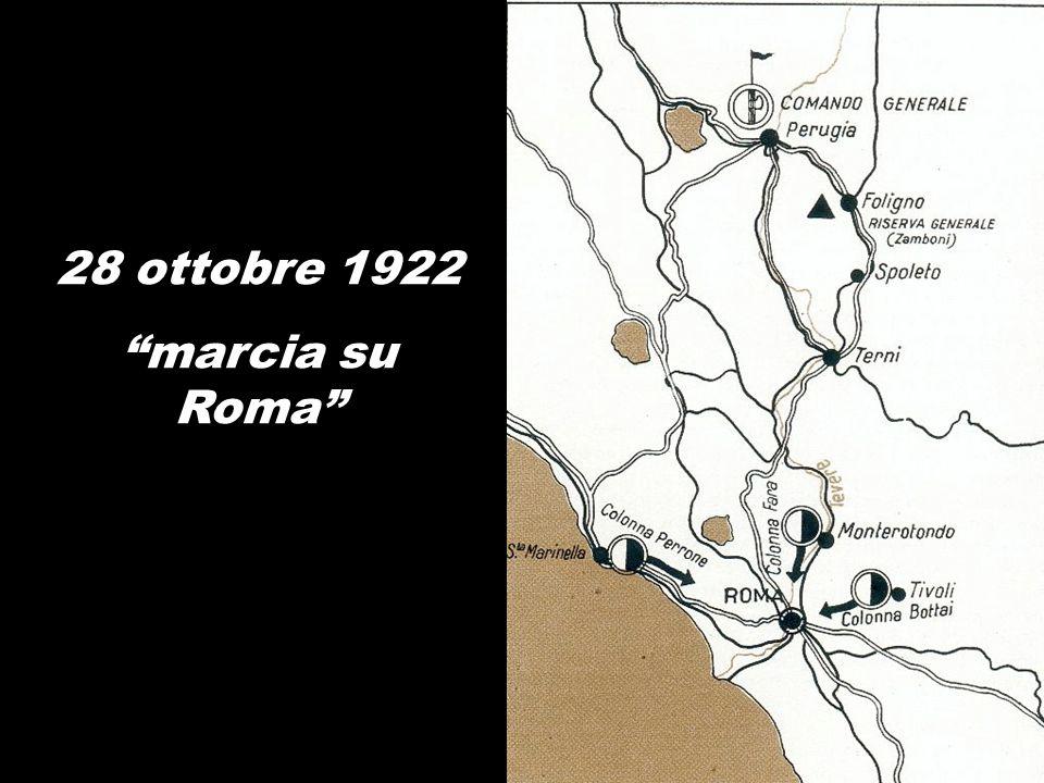 28 ottobre 1922 marcia su Roma