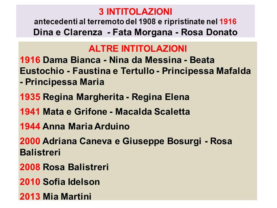 Dina e Clarenza - Fata Morgana - Rosa Donato