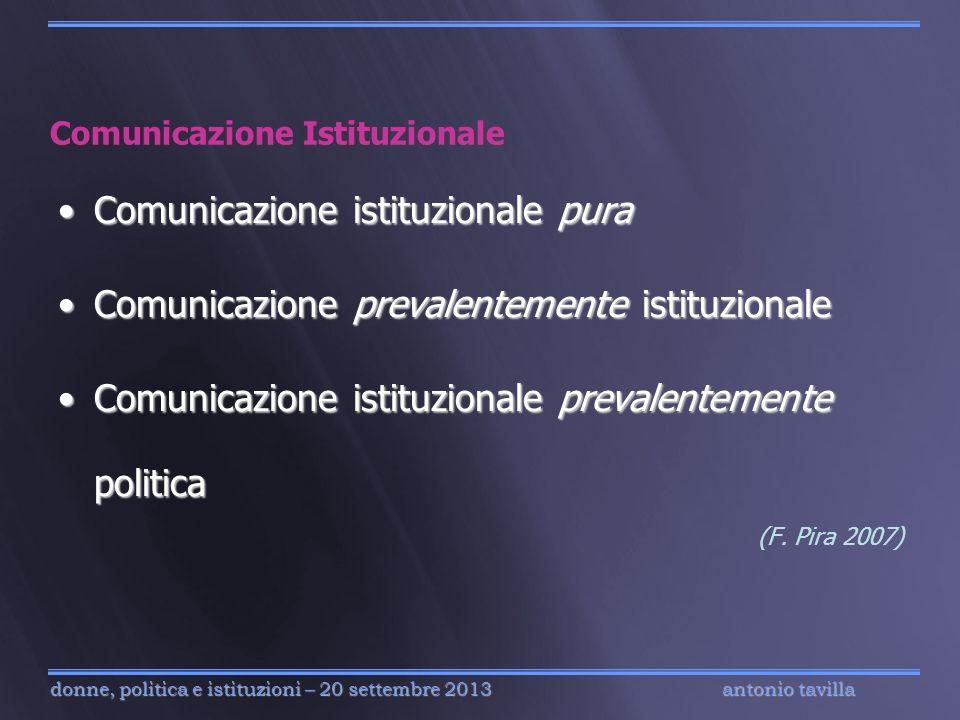 Comunicazione Istituzionale