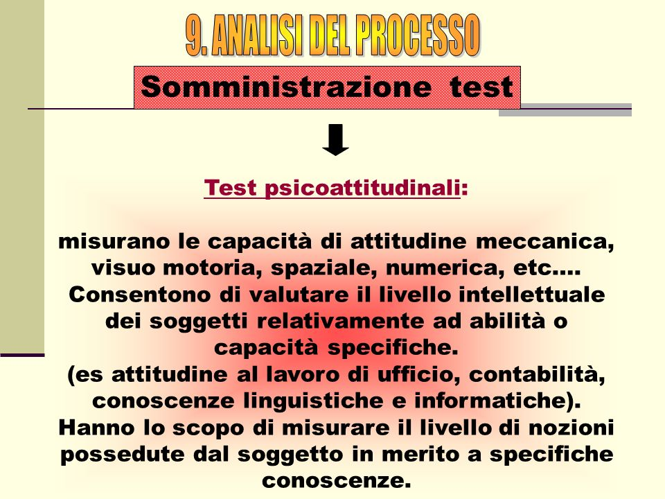 Test psicoattitudinali: