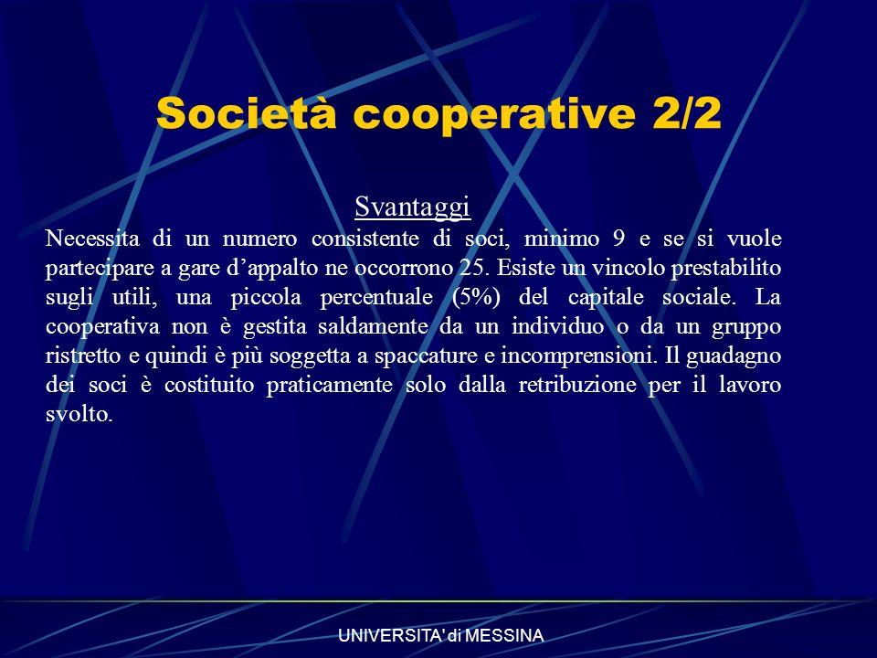 Società cooperative 2/2