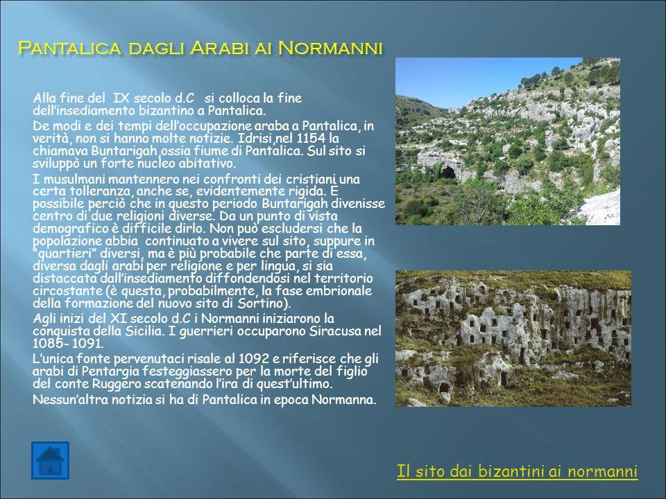 Pantalica dagli Arabi ai Normanni