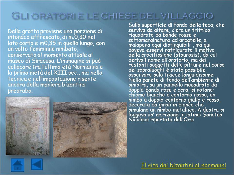 Gli oratori e le chiese del villaggio