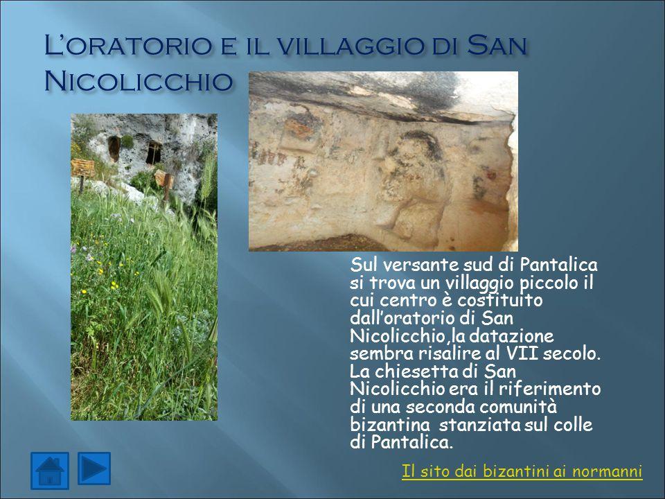 L'oratorio e il villaggio di San Nicolicchio